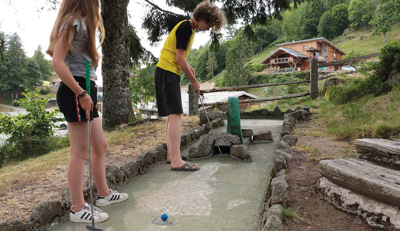 Mini Golf au Restaurant L'Etable à la Bresse