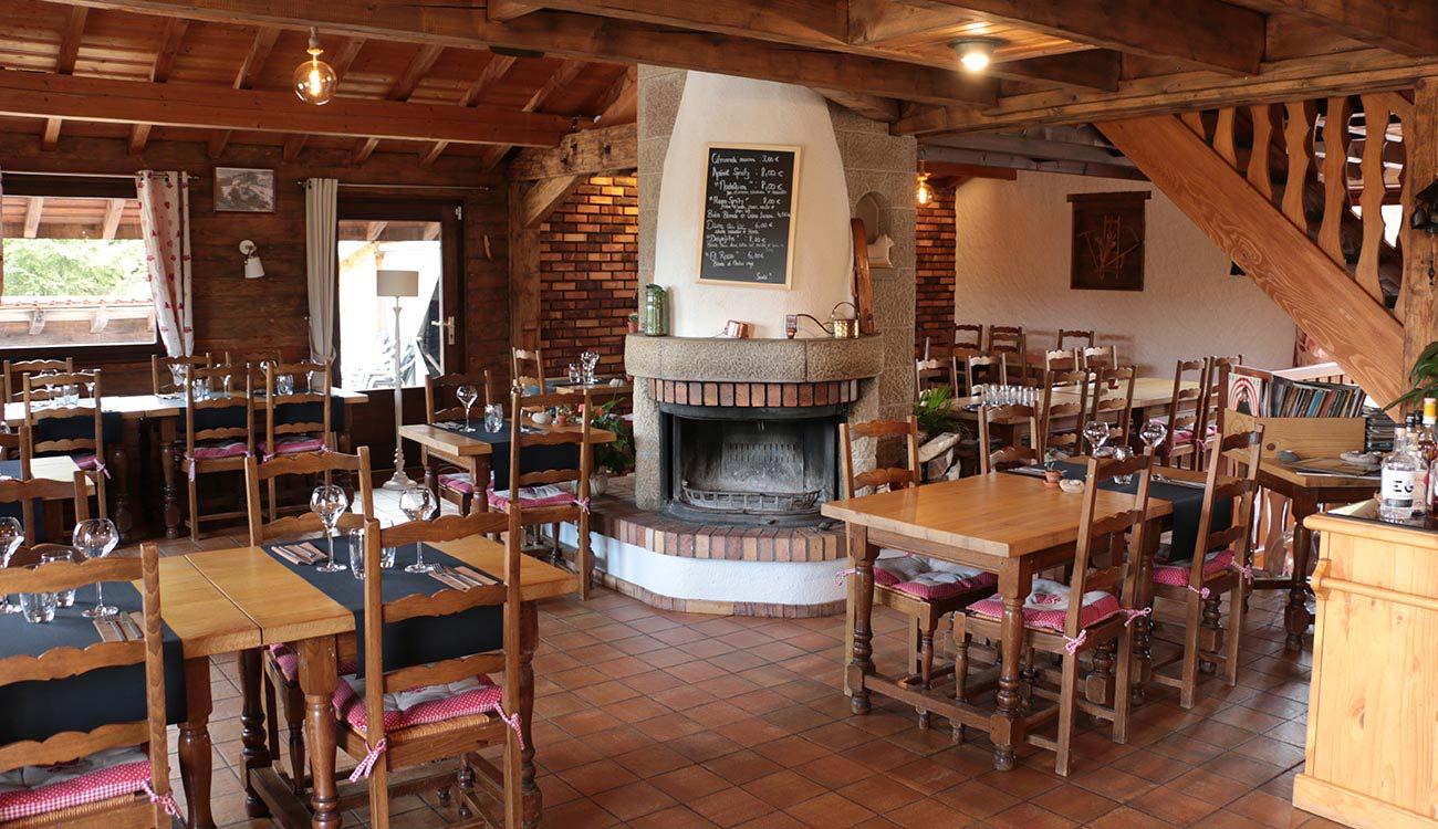 Salle du restaurant L'Etable à La Bresse