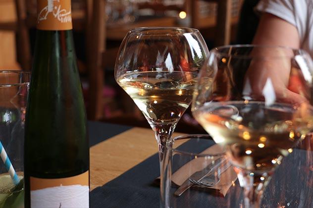 Découvrez une carte des vins sous le signe de l'Alsace