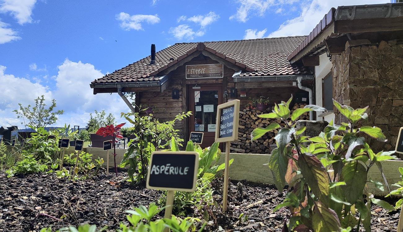 Le Restaurant L'Etable à La Bresse de jour